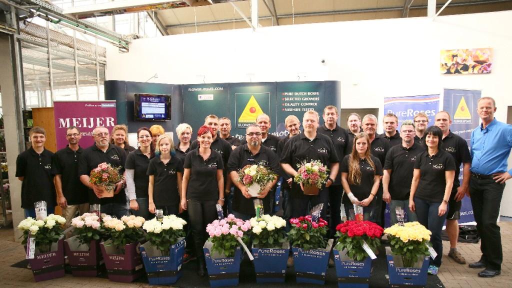 Blumengroßhandel Weisheit - Team Barchfeld