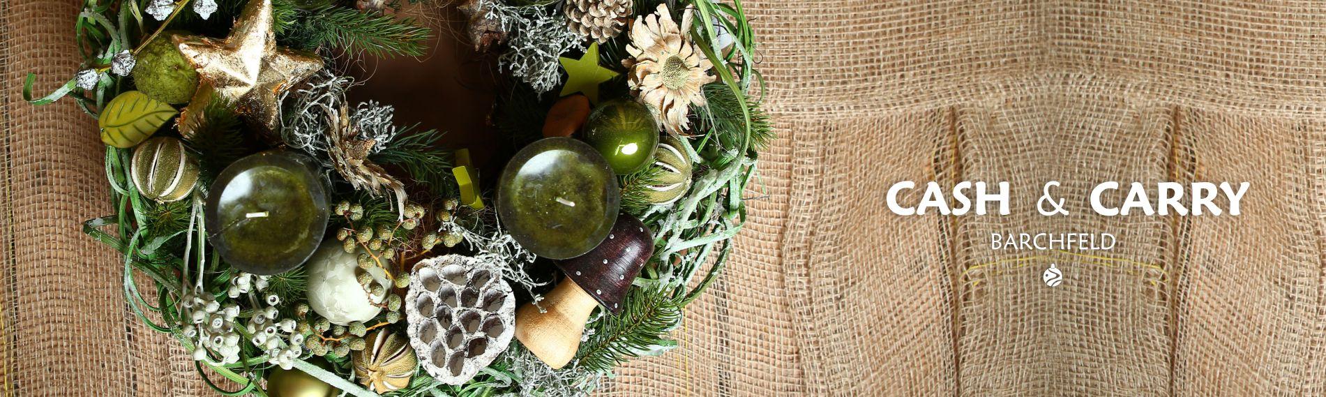 Weihnachtsideen mit Weisheit Blumen & Anette Kamping