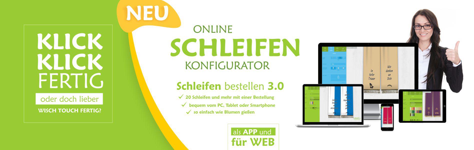 Online Schleifen Konfigurator